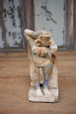 Sandstone Statue of a Dancing Concubine <b>sold<b>